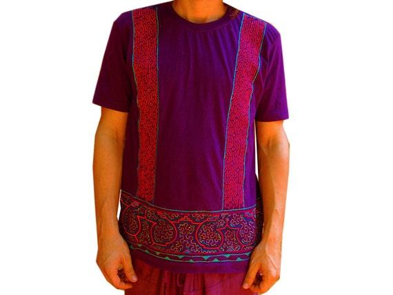 Ayahuasca T-Shirt Shipibo Conibo DMT Psychedelic Artwork Yage
