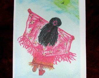 Blank Note Cards, Native American Shawl Dancer