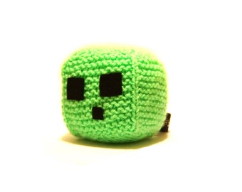 To-Be-Made Slime Cube Minecraft Plush