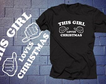 Christmas T-Shirt X-Mas Party Tee Shirt