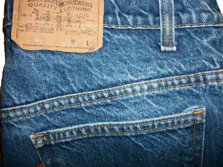 levis 509 jeans size 38 x 30 excellent. Black Bedroom Furniture Sets. Home Design Ideas