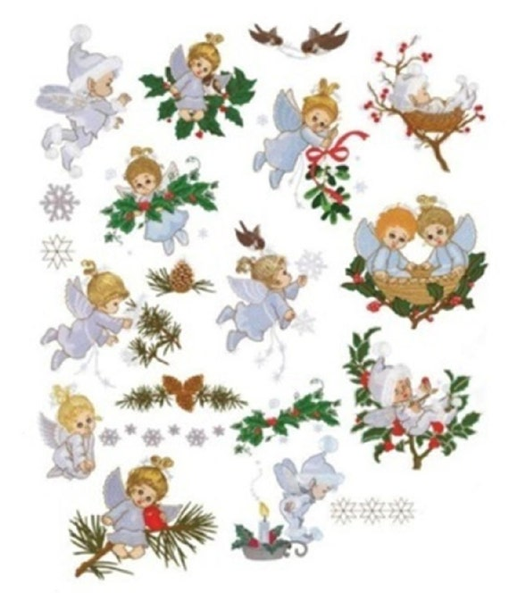 Christmas Winter Fairies & Angels Machine Embroidery Designs - PES