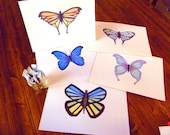 Elegant Butterfly Greeting Cards - Birthday, Wedding, Baby Shower, Thank You