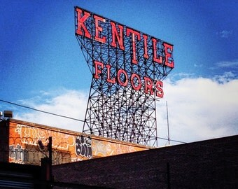 Brooklyn Sign ~ Kentile Floors
