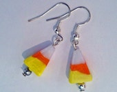 Candy Corn Earrings     PTJ356A