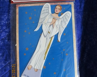 Michelle: Angels Through the Ages Paper Doll Set by Tom Tierney