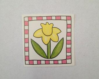 MAMBI Frame Ups - Tulip Square Die Cut