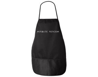 Pirate Apron - Pirate Wench