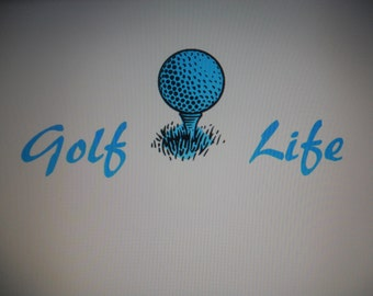 Golf Life Decals