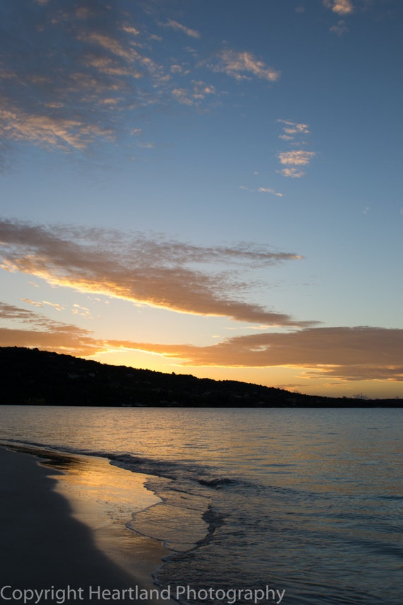 Sunrise Over the Ocean - Sunrise Photography - Oceans Prints - Landscape Images - Beach Sunrise - Fine Art Photography - Sunrise Wall Art