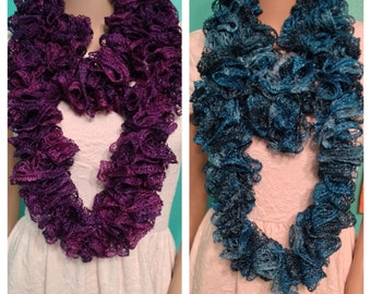 CROCHET SASHAY RUFFLE SCARVES ? Only New Crochet Patterns