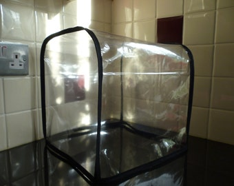 Clear Black PVC Thermomix Dust Cover