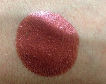 "Red Burgundy Metallic waterproof body paint airbrush paint""The Lovers"""