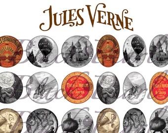 Jules Verne - digital images for cabochons - 60 images Page