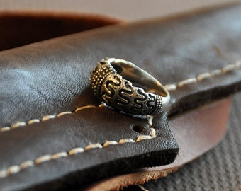 Viking silver ring from Hornelund