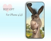 Donkey-------- iphone 4 rubber case iphone4s plastic case apple phone  iphone 4 case iphone 4s case iphone cover for iphone4/4s