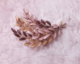 50% OFF Cascade of pastel leaves with pink, lavender and a hint of gold.