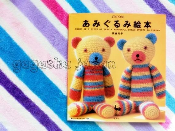 Japanese Amigurumi Chart : Amigurumi Crochet Needle craft Japanese book Tomoko ...