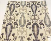 Indigo Fabric Samples Pindler and Pindler Vintage Alani Indigo 26'' x 27'' + FREE SAMPLES!!!