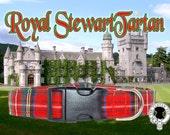 Royal Stewart Tartan Dog Collar