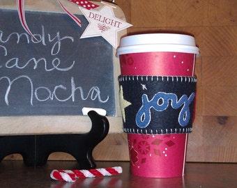 Wool felt Coffee Cup Cozy