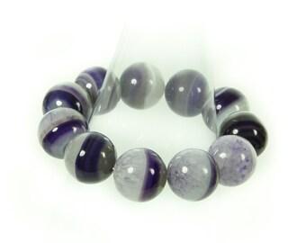 Designer Blue Agate Gemstone Bracelet.