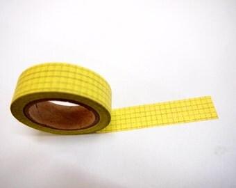 Washi Tape -  checked pattern  (10M) P64