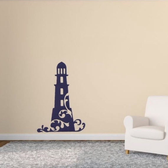 Nautical Decal Lighthouse Wall Decal