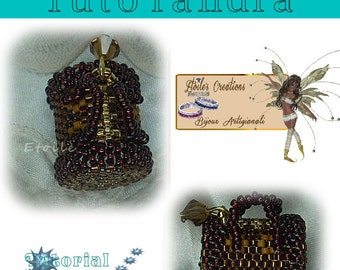 Pattern to create handbag pendent(Italian/french)