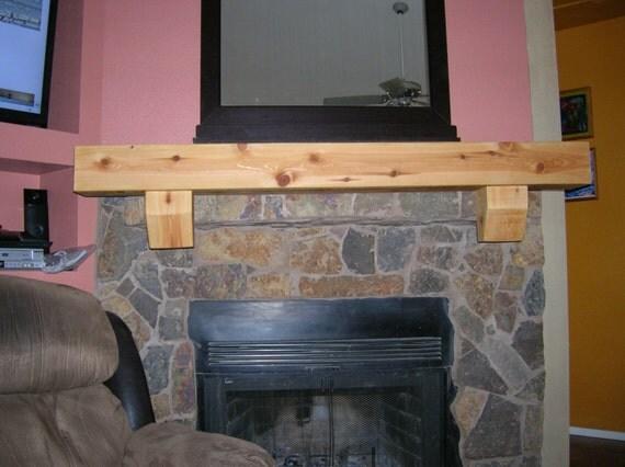 fireplace mantel floating wall shelf tv shelf 64 long x 5 5 tall