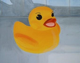 Duck Bath Toy Etsy