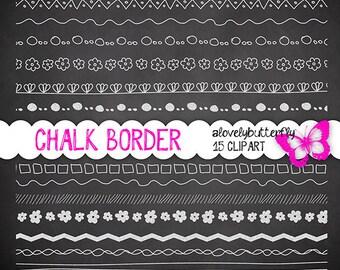 Chalkboard border, Chalkboard digital, chalkboard background, chalk pattern, small comercial use, INSTANT DOWNLOAD