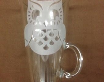 Owl Tall Coffee Cup