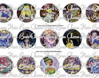 princess Zombies bottle cap images