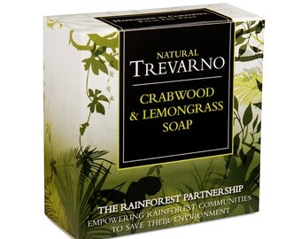 Trevarno Crabwood & Lemongrass Soap
