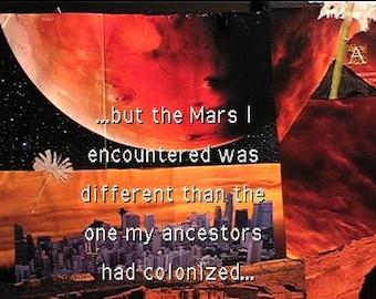 Handmade #collage #zines #Sciencefiction #Dystopia