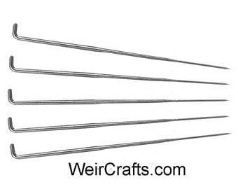 5 Felting Needles - Triangular tips