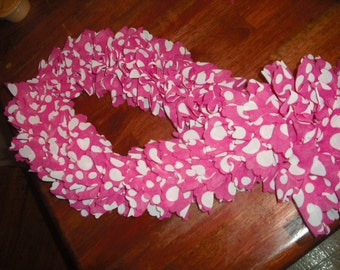 knitted fashion scarf