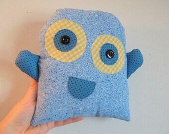 Cute Monster Pillow : Cute monster pillow Etsy