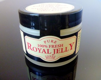 100%Pure and Fresh Organic Royal Jelly, LongLife,Energy, Health, 50.000 Mg