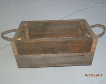 Barnwood box