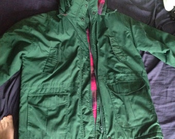 Vintage Atlantic Highlands Green Jacket Women's XL