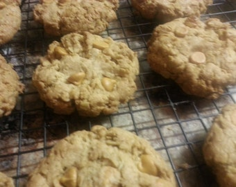 Old fashioned Oatmeal  Scotches Cookies  1 Dozen Gourmet