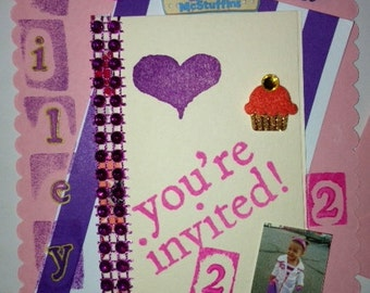 Special Theme Birthday Invitation