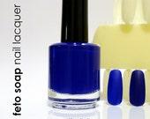 Tardis Blue Dr. Who Amy Pond Nail Polish