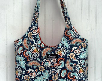 Boho Tote Bag in Besame Costal