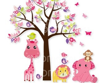 Woodland Clipart Set : Ideal for Scrapbooking, Cardmaking and Paper Crafts