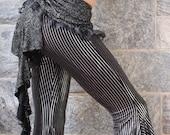 Silver Roses Ruffleicious Bustle Skirt - Clearance Sale