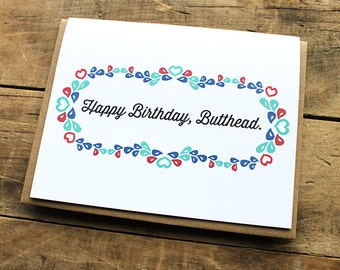 Happy Birthday, Butthead.