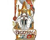 Henry IV - Shakespeare History Plays Illustration Art